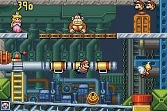 Early screenshot of Donkey Kong