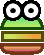 Sprite of a Mini-Sproing from Super Paper Mario.