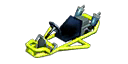 Yellow-green Pipe Frame from Mario Kart 7