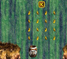 Letter K in Tracker Barrel Trek