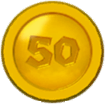 SMM2 50 Coin SM3DW icon.png