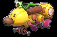 Wild Wiggler body from Mario Kart 8