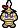 A Gritty Goomba's overworld sprite from Mario & Luigi: Superstar Saga.