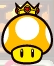 Golden Dash Mushroom from Mario Party: Star Rush