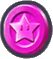 This is the Pink Challenge Coin from Super Mario Run
