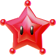 A Flying Star from Super Mario Galaxy.