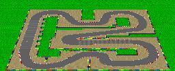 Mario Circuit 3 from Super Mario Kart.