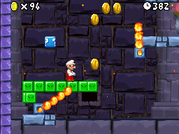 World 8-Tower 2 in the game New Super Mario Bros..