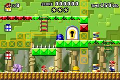 Level 2-6+ in Mario vs. Donkey Kong