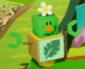 Rumble Jungle's Blockafeller in Yoshi's Crafted World.