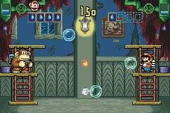 Early screenshot of Donkey Kong 3