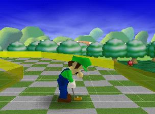 Luigi's Garden from Mario Golf