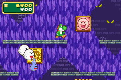 This is a screenshot of the mini-game, Boo-Bye.
