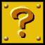 A? Block sprite from Super Paper Mario.