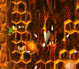 King Zing Sting from Donkey Kong Country 2: Diddy's Kong Quest