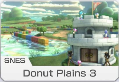 SNES Donut Plains