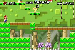 Level 2-3 in Mario vs. Donkey Kong