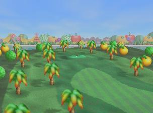 Yoshi's Island from Mario Golf
