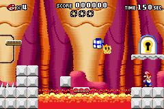 Level x-3 in Mario vs. Donkey Kong