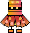 Sprite of a Ninjerry from Super Paper Mario.