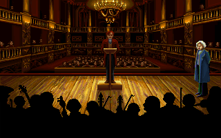 Ludwig van Beethoven in the PC release of Mario's Time Machine