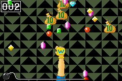 Rain of Riches from WarioWare: Twisted!.