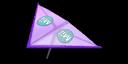Purple Mii's Super Glider in Mario Kart 7