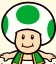 Sprite of Green Toad from Mario Party: Star Rush