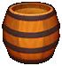 Barrel from Dr. Mario World