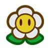 A sticker of Flower Icon