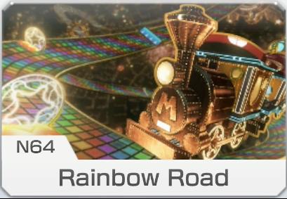 N64 Rainbow Road