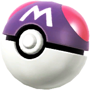 A Master Ball, taken from the trophy in Super Smash Bros. for Wii U.