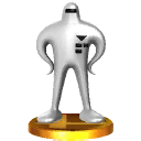 Starman trophy from SSB3DS