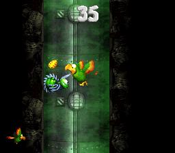 Bonus level in Low-G Labyrinth