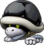 Sprite of Big Bony Beetle's team image, from Puzzle & Dragons: Super Mario Bros. Edition.