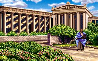 Plato in the PC release of Mario's Time Machine