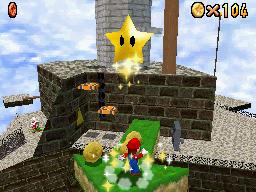 Mario at Whomp's Fortress