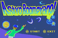 Astro Boomerang! in WarioWare: Twisted!