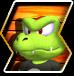 Kip's character selection icon from Donkey Kong Barrel Blast.