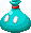 Sprite of a Sniffle Thwomp's ice pack from Mario & Luigi: Bowser's Inside Story + Bowser Jr.'s Journey.