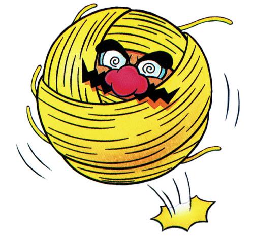 Ball o' String Wario