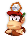 Icon of Dr. Diddy Kong from Dr. Mario World