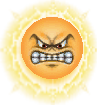 Angry Sun from Mario Kart DS