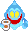 Sprite of the Speedy Spirit from Mario & Luigi: Superstar Saga.