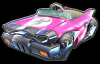 Badwagon body from Mario Kart 8