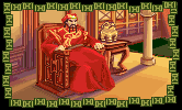 Kublai Khan in the PC release of Mario's Time Machine