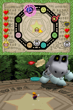 Gameplay of Hexoskeleton in Mario Party DS