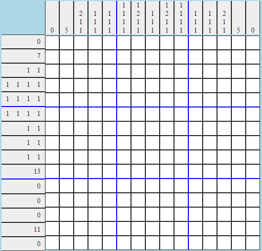 The hard picross, for The 'Shroom 106.