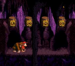 The first Bonus Stage in Elevator Antics