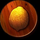 The Lemon Kingdom's icon from Donkey Kong Jungle Beat